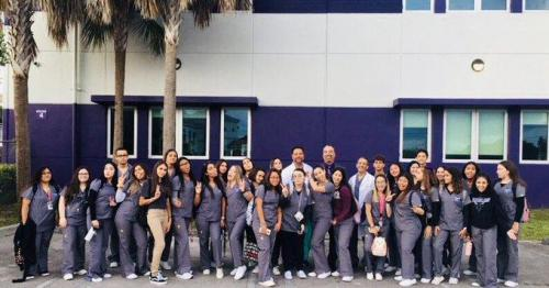 Medical Assistant Academy students