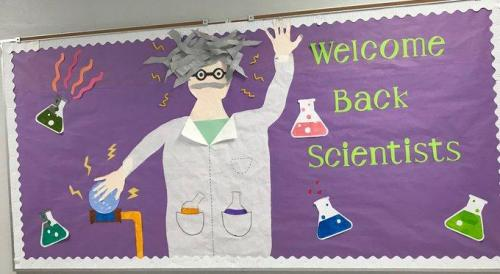 welcome back scientists