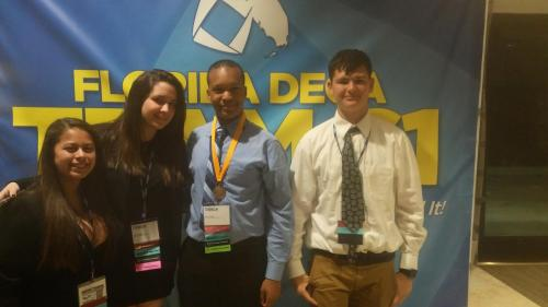 at DECA State Conference