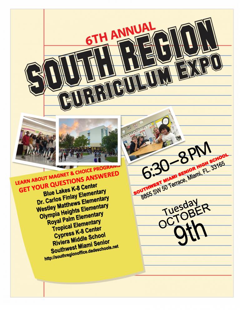 Curriculum Expo at Southwest Senior