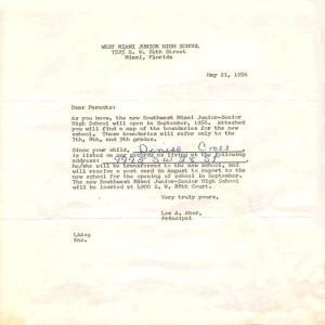 SWSHS Open Letter
